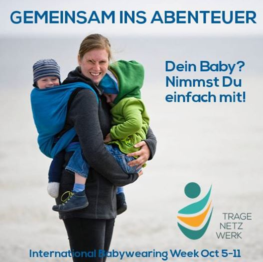 "International Babywearing Week 2014 ""Share the adventure"""
